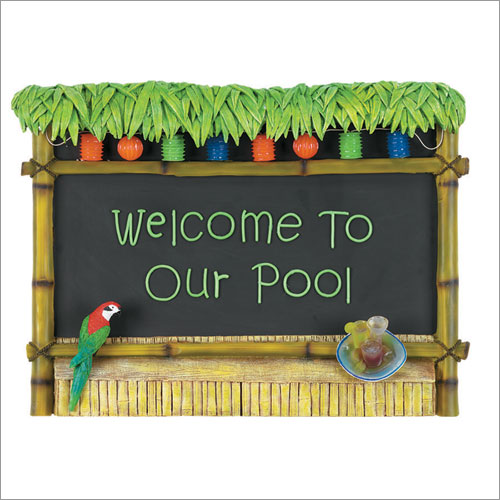 RAM Gameroom ODR295 23 x 30 Inch Welcome To Our Pool Tiki Bar Sign at Sears.com