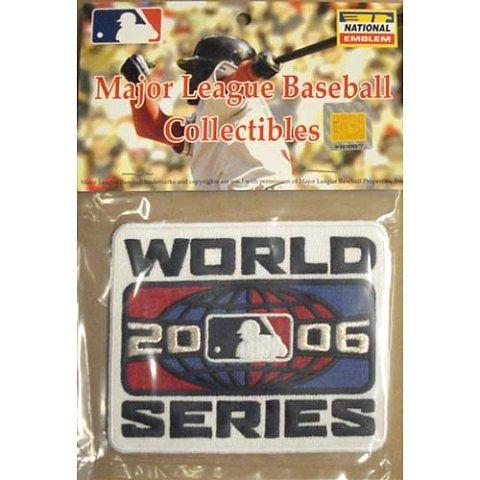 MLB World Series Patch - St. Louis Cardinals  2006 Logo
