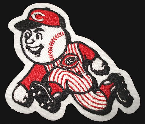 MLB Logo Patch - Cincinnati Reds Run Man