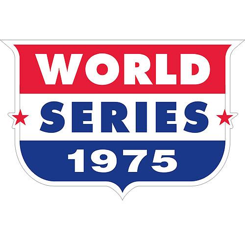 MLB World Series Patch - 1975 Cincinnati Reds