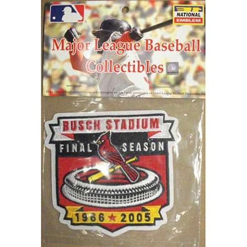 MLB Logo Patch - St. Louis Cardinals Busch Stadium 2006 Inagural