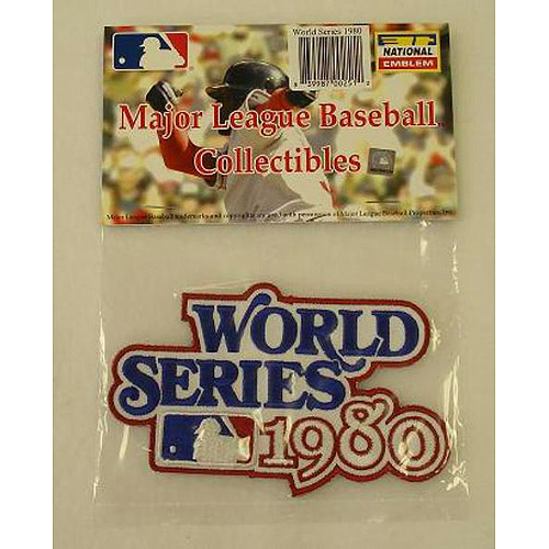 MLB World Series Patch - 1980 Philadelphia Phillies