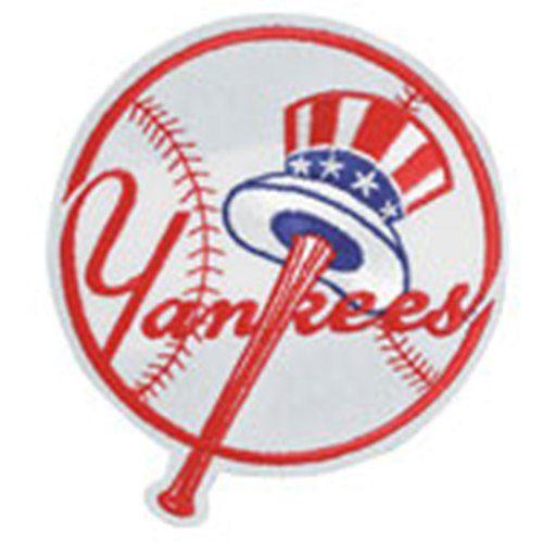 MLB Logo Patch - New York Yankees Top Hat