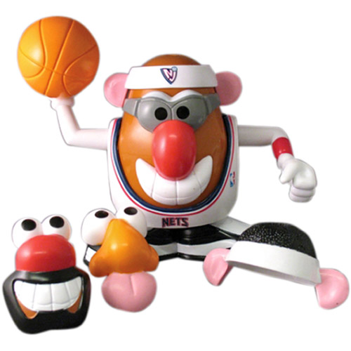 Promotional Partner Worldwide MRPBKTNJN NBA Mr Potato Head - New Jersey Nets
