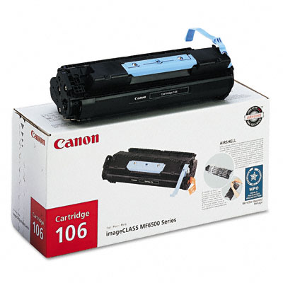CANON 0264B001 BLACK TONER CARTRIDGE 106 0264B001AA