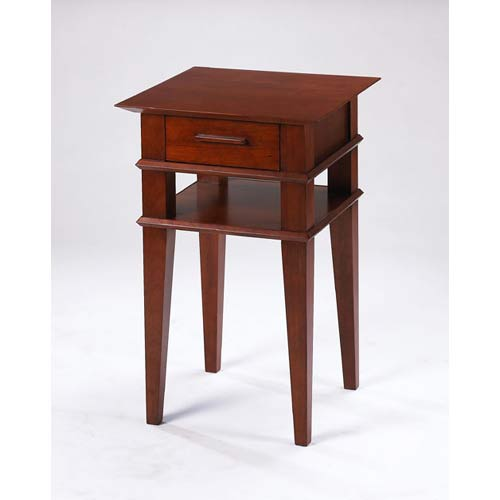 TLS by Design 1B-2007 Kensington Place Accent Table - Cherry