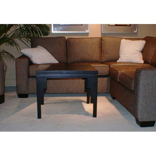 TLS by Design 13B-1011 Uptown Accent Table - Translucent Black