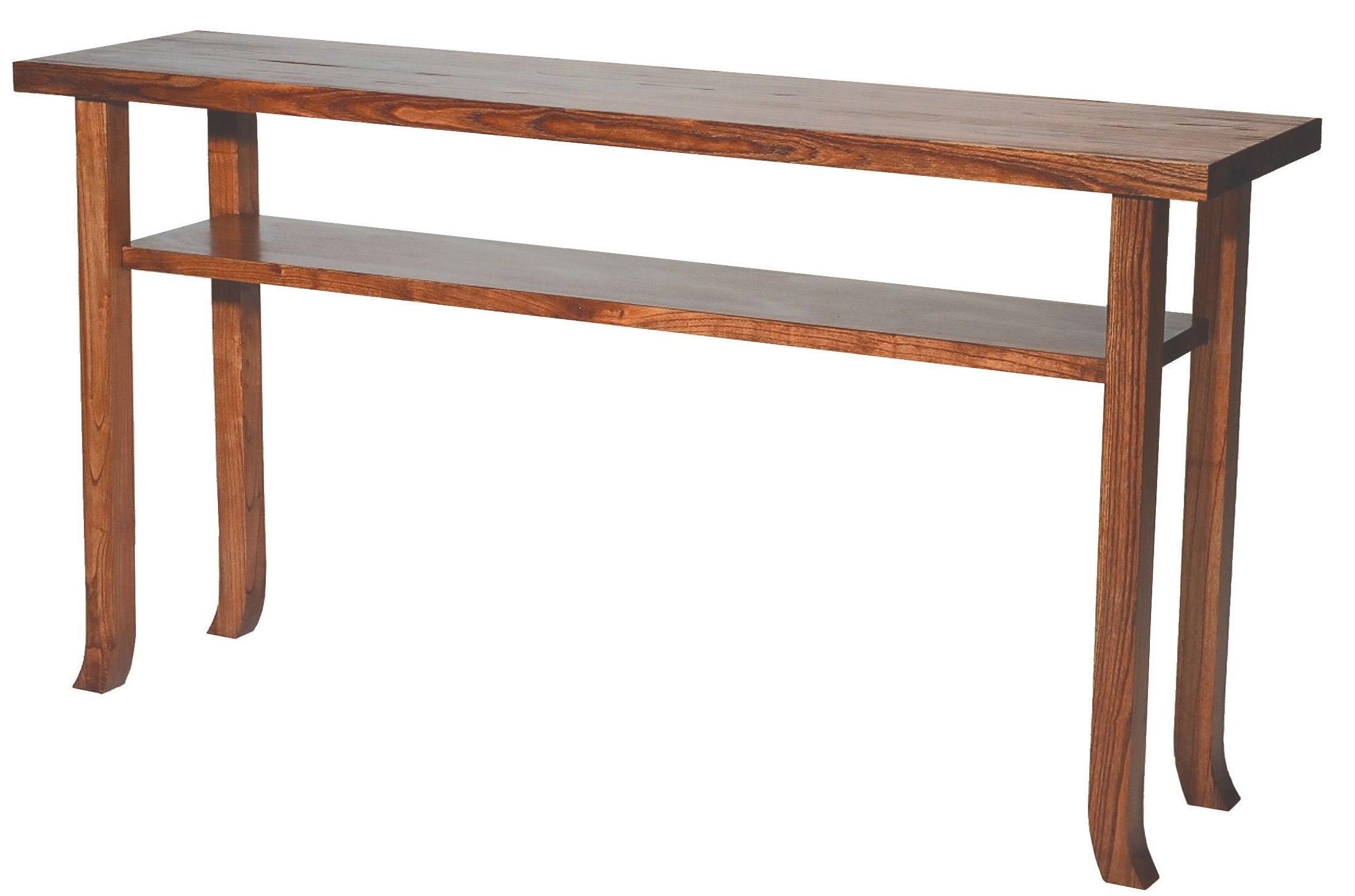 TLS by Design 15C-1012-D1 Sonoma Heights Console Table - Mahogany
