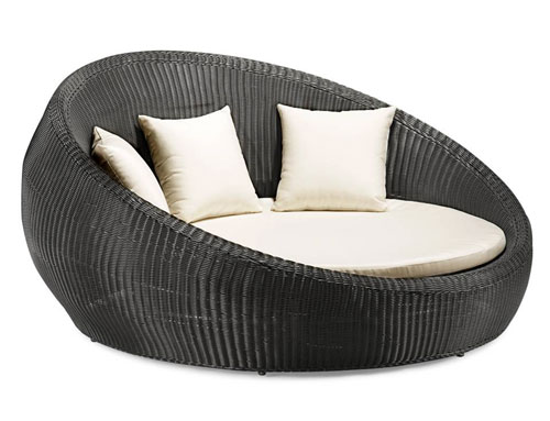 Zuo 701139 Anjuna Bed Patio Daybed - Dark Brown at Sears.com