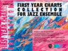 Alfred Publishing 00-SBM01006 First Year Charts Collection for Jazz Ensemble - Music Book