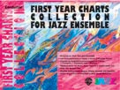 Alfred Publishing 00-SBM01011 First Year Charts Collection for Jazz Ensemble - Music Book