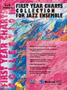 Alfred Publishing 00-SBM01008 First Year Charts Collection for Jazz Ensemble - Music Book