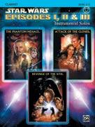 Alfred Publishing 00-IFM0520CD Star Wars: Episodes I II & III Instrumental Solos - Music Book