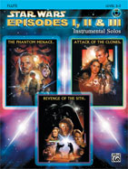 Alfred Publishing 00-IFM0519CD Star Wars: Episodes I II & III Instrumental Solos - Music Book