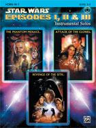 Alfred Publishing 00-IFM0524CD Star Wars: Episodes I II & III Instrumental Solos - Music Book