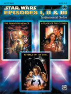 Alfred Publishing 00-IFM0521CD Star Wars: Episodes I II & III Instrumental Solos - Music Book
