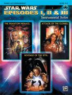 Alfred Publishing 00-IFM0526CD Star Wars: Episodes I II & III Instrumental Solos - Music Book