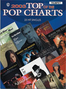 Alfred Publishing 00-IFM0305 2003 Top of the Pop Charts: 25 Hit Singles - Music Book