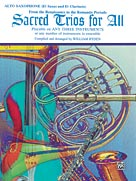 Alfred Publishing 00-EL9759 Sacred Trios for All - Music Book at Sears.com
