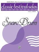 Alfred Publishing 00-EL03900 Classic Festival Solos Volume 2 - Snare Drum - Piano Accompaniment - Music Book