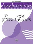 Alfred Publishing 00-EL03901 Classic Festival Solos Volume 2 - Solo Snare Drum - Music Book at Sears.com
