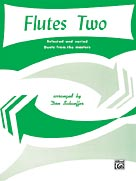 Alfred Publishing 00-PROBK01559 Flutes Two - Music Book