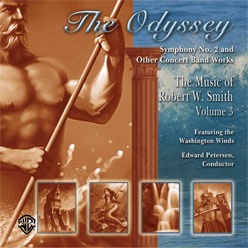 Alfred Publishing 00-ELM04008CD The Odyssey: The Music of Robert W. Smith Volume 3 - Music Book