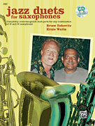 Alfred Publishing 00-20867 Jazz Duets for Saxophones - Music Book