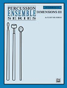 Alfred Publishing 00-PERC00068 Dimensions III - Music Book