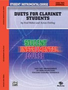 Alfred Publishing 00-BIC00210A Student Instrumental Course: Duets for Clarinet Students Level II - Music Book