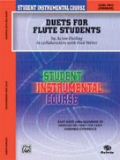 Alfred Publishing 00-BIC00205A Student Instrumental Course: Duets for Flute Students Level II - Music Book