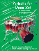 Alfred Publishing 00-0753B Portraits for Drum Set - Music Book