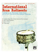 Alfred Publishing 00-7216 International Drum Rudiments - Music Book