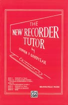 Alfred Publishing 00-11343X The New Recorder Tutor - Music Book