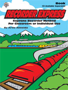 Alfred Publishing 00-BMR1000 Recorder Express - Music Book