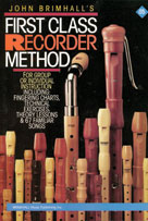 Alfred Publishing 05-BMP333A First Class Recorder Method - Music Book