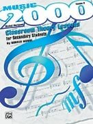 Alfred Publishing 00SVB9603S Music 2000: Classroom Theory Lessons for Secondary Students Volume II Student Workbook Music Book