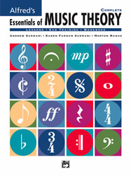 Alfred Publishing 00-17234 Essentials of Music Theory: Complete - Music Book