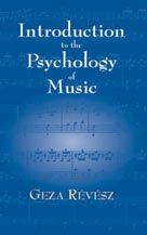 Alfred Publishing 06-41678X Introduction to Psychology of Music - Music Book