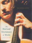 Alfred Publishing 43-0674011635 The New Harvard Dictionary of Music - 4th Edition - Music Book