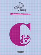 Alfred Publishing 00-0023 The Art of Clarinet Playing - Music Book
