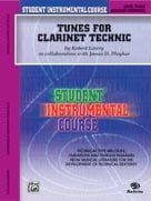 Alfred Publishing 00-BIC00308A Student Instrumental Course: Tunes for Clarinet Technic Level III - Music Book