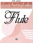 Alfred Publishing 00-EL03720 Classic Festival Solos - C Flute Volume 1 - Music Book