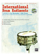 Alfred Publishing 00-24605 International Drum Rudiments - Music Book