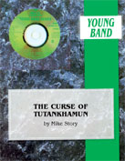 Alfred Publishing 00-BDM01020 The Curse of Tutankhamun - Music Book