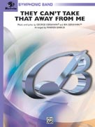 Alfred Publishing 00-CBM00013 They Can t Take That Away From Me - Music Book