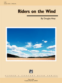 Alfred Publishing 00-22285 Riders on the Wind - Music Book