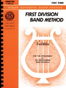 Alfred Publishing 00-FDL00169 First Division Band Method Part 3 - Music Book