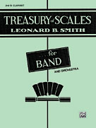 Alfred Publishing 00-EL01873 Treasury of Scales for Band and Orchestra - Music Book