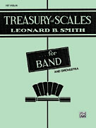 Alfred Publishing 00-EL01899 Treasury of Scales for Band and Orchestra - Music Book